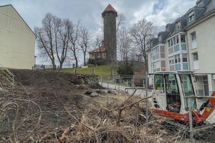 Auerbach sucht Ideen für ein Grundstück an der Schlossstraße