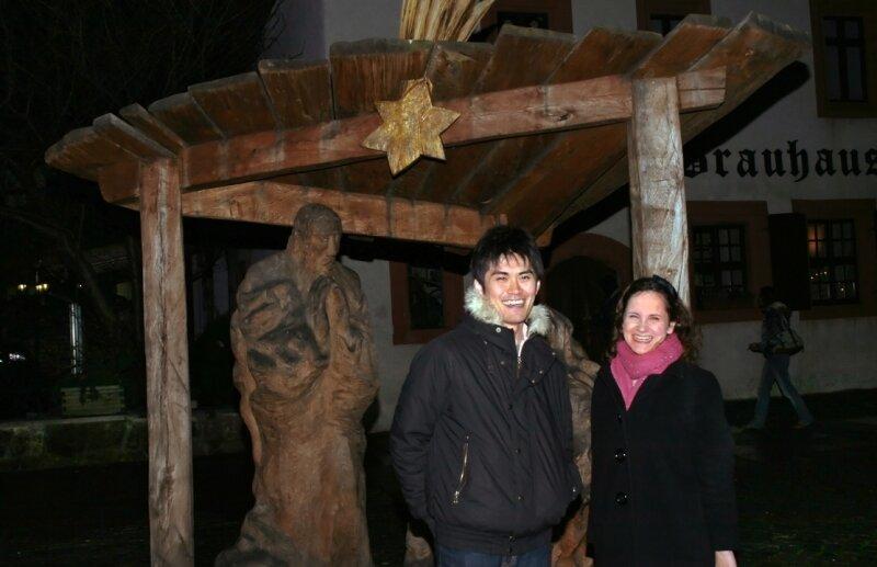 """<p class=""""artikelinhalt"""">Diana Beier Taguchi hat ihrem Mann Souichirou in Zwickau viel Interessantes gezeigt. </p>"""