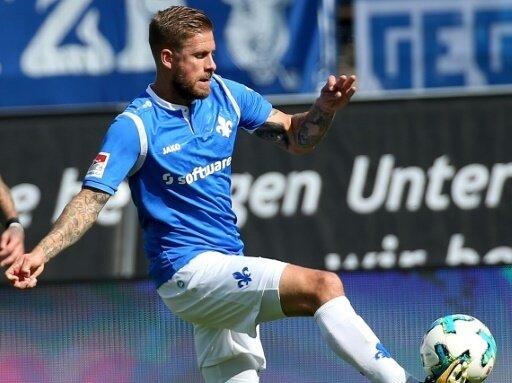 Torschütze zum 1:0 der Lilien: Tobias Kempe