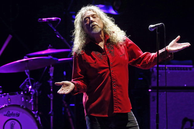 Aufnahme von 2016: Robert Plant, britischer Sänger und ehemaliges Bandmitglied von Led Zeppelin, tritt mit seiner Band The Sensational Space Shifters bei den Nights of the Botanical auf. Am Montag wurde der Musiker 70.