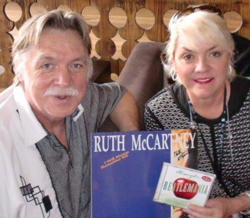Edmund Thielow und Ruth McCartney bei ihrem Treffen in Österreich.