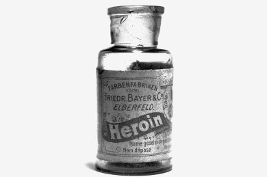 Deutsche Markenqualität: Die Firma Bayer erfand Heroin - und den Massenmarkt gleich mit.