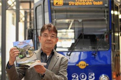 Prokurist Karsten Treiber ist ab Juli neuer Geschäftsführer der Plauener Straßenbahngesellschaft