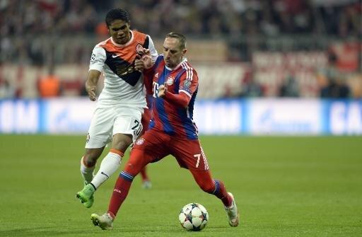 Verletzte sich im Spiel gegen Donezk: Franck Ribéry