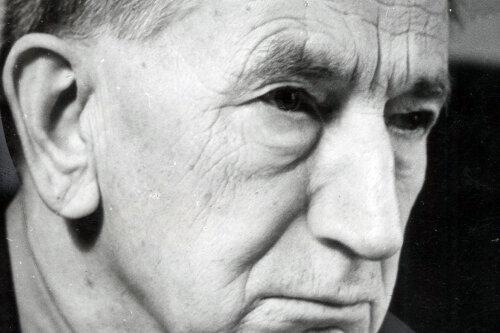 """Karl Otto war Chefredakteur der Chemnitzer KPD-Zeitung """"Kämpfer"""" und nach 1945 Leiter des Kulturamtes sowie Verwaltungsdirektor des Theaters. Zudem schrieb er Gedichte."""