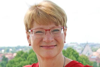 Jana Pinka - Linke-Stadträtin in Freiberg