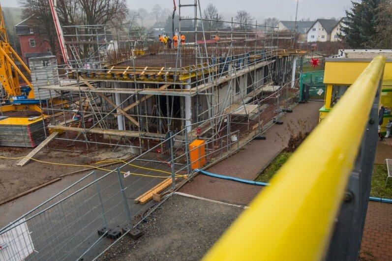 Baufortschritt für Niederdorfer Kita-Anbau