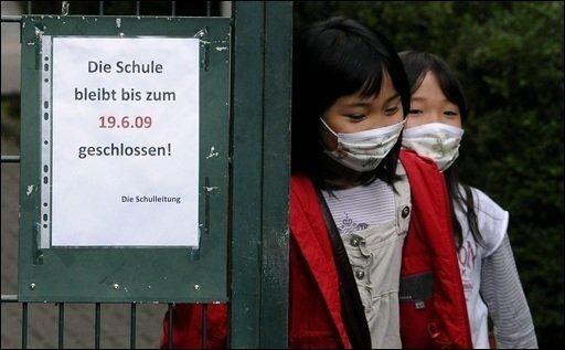 Die Zahl der Schweinegrippefälle an einem Kölner Gymnasium ist auf acht gestiegen. Die Schule bleibt bis einschließlich kommenden Mittwoch geschlossen. An der Japanischen Schule in Düsseldorf (Foto) waren bis zum Donnerstagabend 46 Schüler an Schweinegrippe erkrankt.