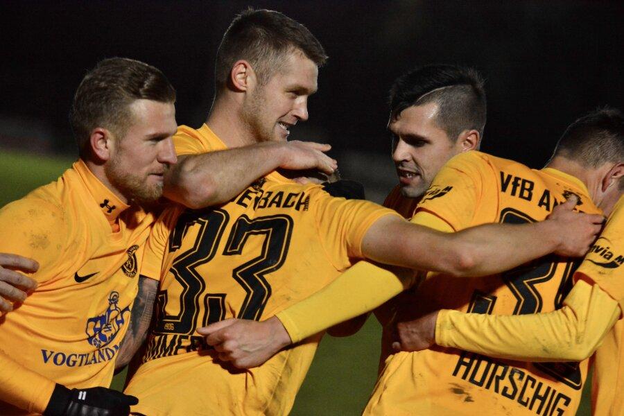 In letzter Sekunde: VfB Auerbach fährt weiteren Sieg ein