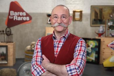 """Horst Lichter, der Moderator der Sendung """"Bares für Rares""""."""