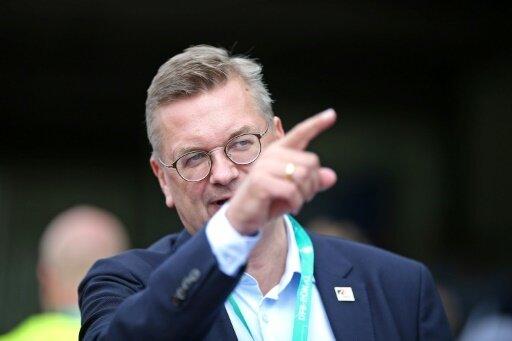 Grindel hofft auf eine Weiterentwicklung des DFB-Teams
