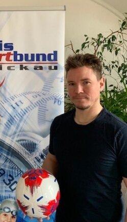 Sebastian Modes ist beim Kreissportbund Zwickau für die Ausbildungsangebote zuständig.