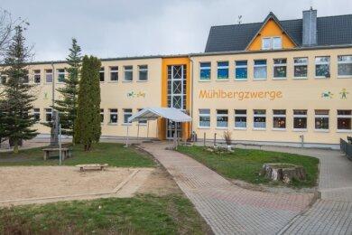 """Die Kita """"Mühlbergzwerge"""" am Ahnerweg ist eine von drei Kindertagesstätten in Burkhardtsdorf ."""