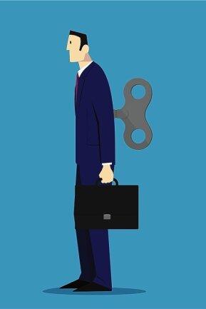 Im Job die Zuverlässigkeit in Person, daheim mit den einfachsten Aufgaben überfordert.