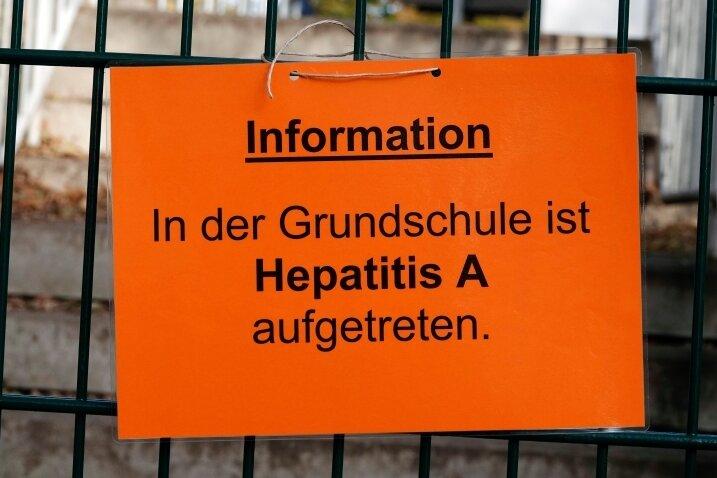Nach Hepatitis A weiterhin kein Unterricht an der Chemnitzer Schloßgrundschule