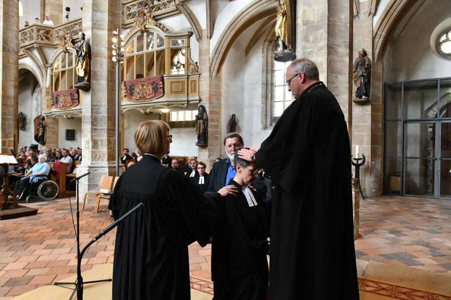 Neue Kirchenchefin in Freiberg