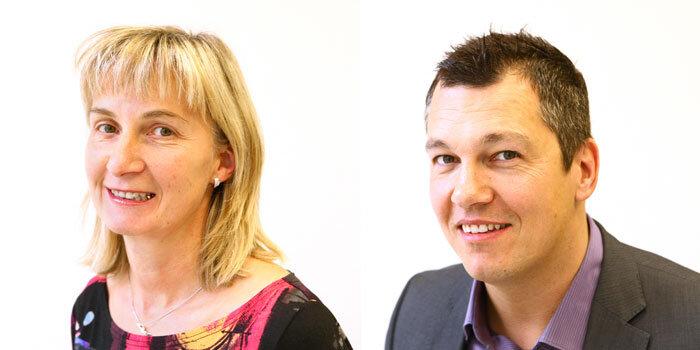 Die Experten: Marion Vollman und Thomas Köhler