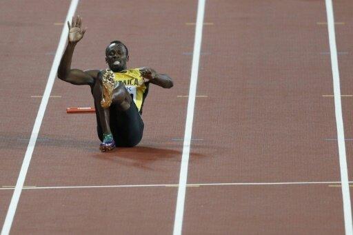 Sprintstar Bolt kann sein letztes Rennen nicht beenden