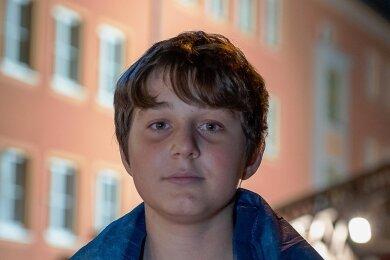 Platz 1: Deni Eskiev. Der 14-Jährige hatte bei einem Großbrand in Oelsnitz die Mieter eines Mehrfamilienhauses rechtzeitig gewarnt.