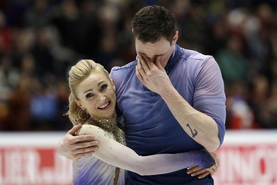 Eiskunstlauf-Olympiasieger Savchenko/Massot erstmals Weltmeister