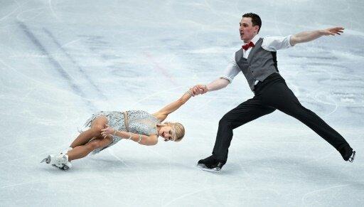 Savchenko und Massot holen Gold bei Eiskunstlauf-WM