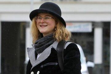 Die 20-jährige Bäckergesellin legte am Montag einen Stopp in Glauchau ein.