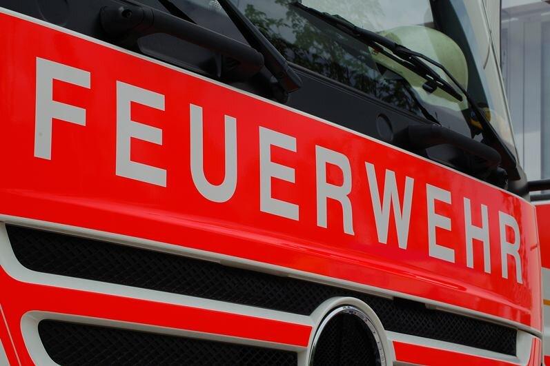 Mikrowelle explodiert: Küche in Zwickau brennt