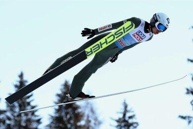 Hält der Höhenflug von Skisprung-Ästhet Kamil Stoch aus Polen auch beim Finale der Vierschanzentournee in Bischofshofen an?