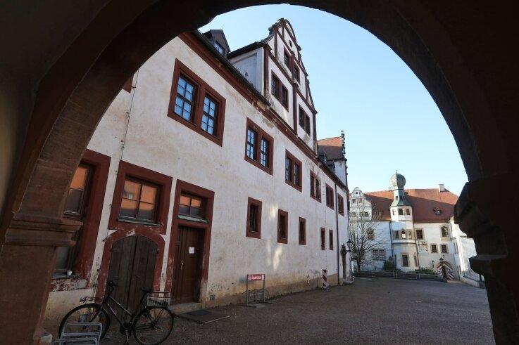 In das Glauchauer Schloss werden in den nächsten Jahren weitere Millionen Euro gesteckt.