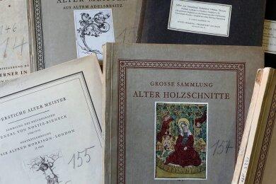 Die Versteigerungsbücher von Paul Geipel befinden sich im Glauchauer Museum und sind gut erhalten.