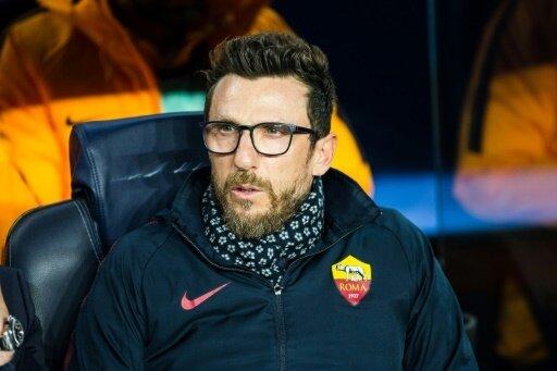 Eusebio Di Francesco hat einen Handbruch erlitten