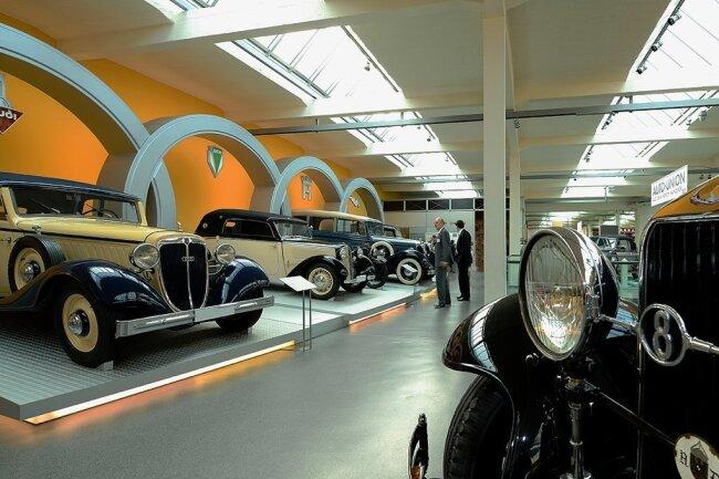 Das August Horch Museum in Zwickau.