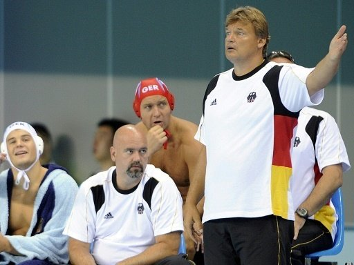 Bundestrainer Stamm (re.) hatte wenig Grund zur Freude