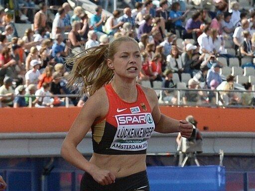 Gina Lückenkemper gewinnt über die 200 m