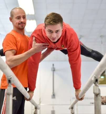 Ivan Rittschik, der von Ex-Spitzenturner Sven Kwiatkowski betreut wird, startet seit 2013 zum zweiten Mal bei einer EM.