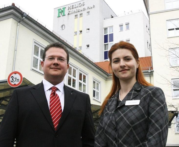 Diana Lohmann tritt als Geschäftsführerin im Auer Helios-Klinikum die Nachfolge von Markus Funk an.