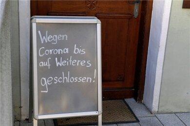 Ein Großteil der Geschäfte in Sachsen soll nun wieder dichtmachen - kurz vor Weihnachten.