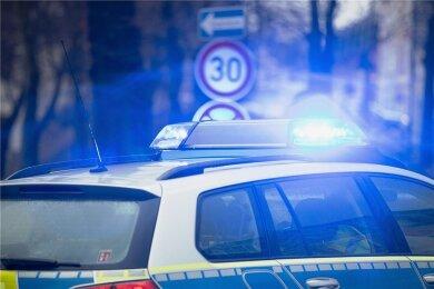 Die Polizei ermittelt zu mehreren Fällen von Schmierereien in Aue.