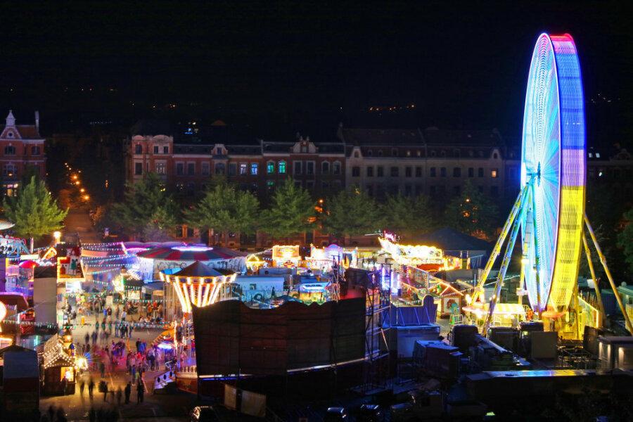 """Unter dem Motto """"Mit Abstand das Beste!"""" laden Schausteller vom 25. September bis zum 14. Oktober auf den Platz der Völkerfreundschaft ein."""