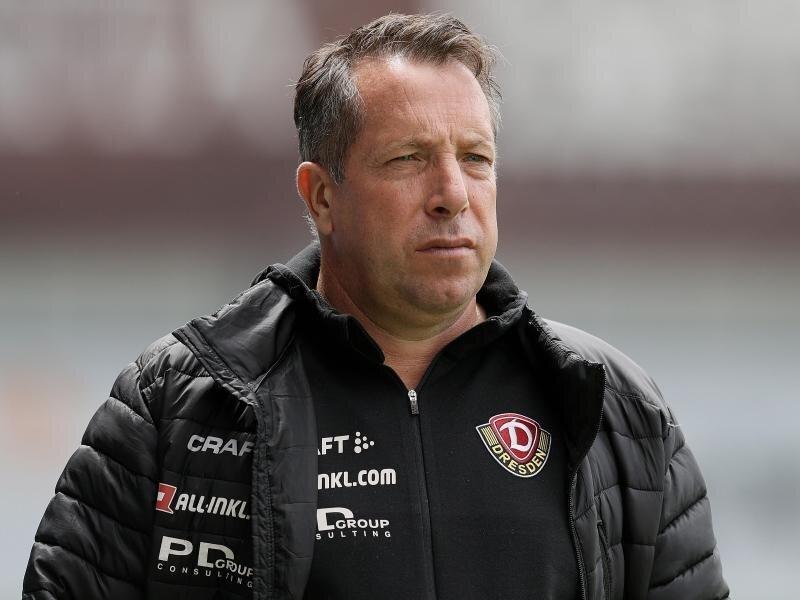 Dresdens Trainer Markus Kauczinski.