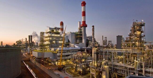 Auf dem Gelände der Raffinerie Schwechat entsteht die neue Anlage.