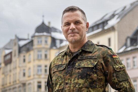 Am 19. März 2020 begann für den Oberstleutnant der Reserve Jörn Hebestreit der Einsatz im Erzgebirgskreis.
