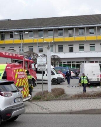 Der Unfallort an der Fürstenstraße. Hier ereignete sich am Mittwochgegen 10 Uhr ein Verkehrsunfall mit tödlichem Ausgang für eine 79-jährige Frau.