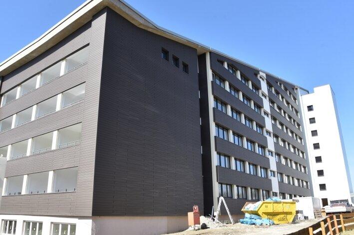 Ifa-Hotel: Neue Fassade fertig