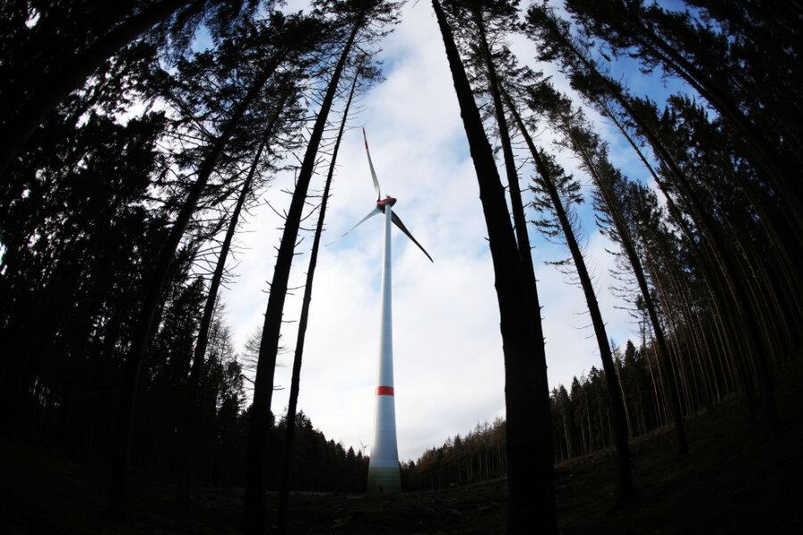 Neuer Windkraft-Plan für Sachsen: An diesen Standorten könnten Windräder stehen