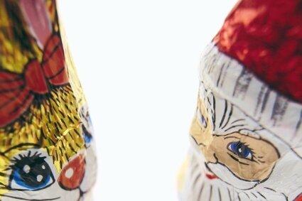 Werden nach Angaben der Industrie nicht miteinander vermischt: Osterhase und Weihnachtsmann.