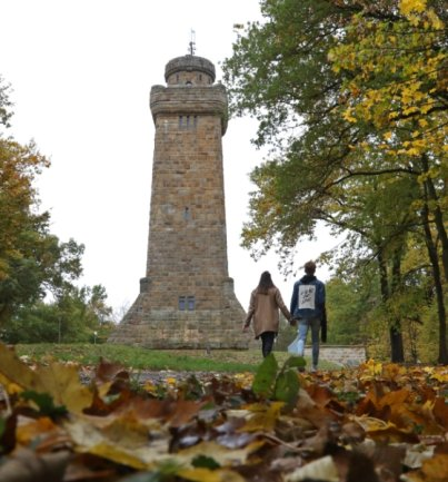 Der Bismarckturm in Glauchau soll weiter auf Vordermann gebracht werden.