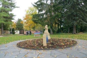 Die Ruhestätte auf dem Zwickauer Hauptfriedhof.