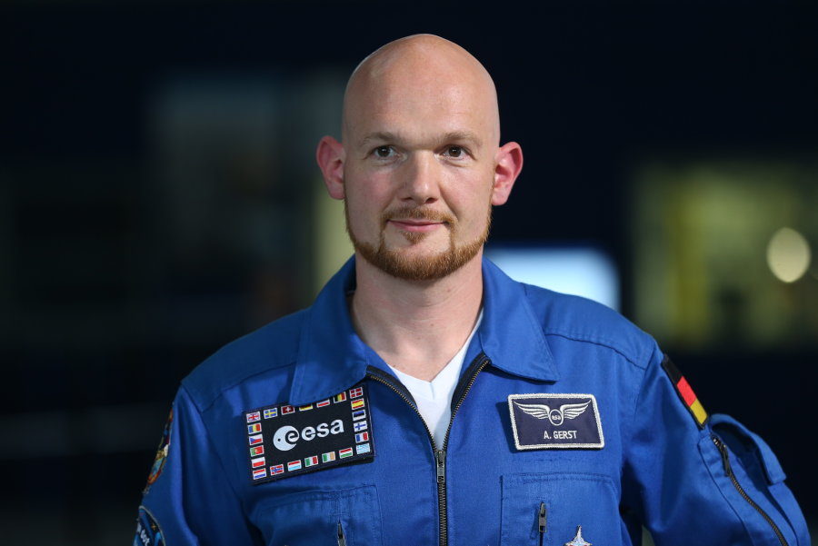 Astronaut Alexander Gerst.