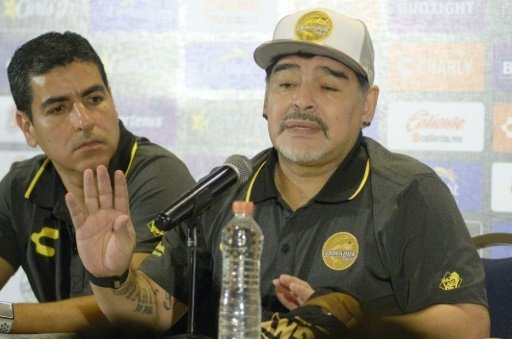 Diego Maradona bekommt ein Rekordgehalt in Culiacan